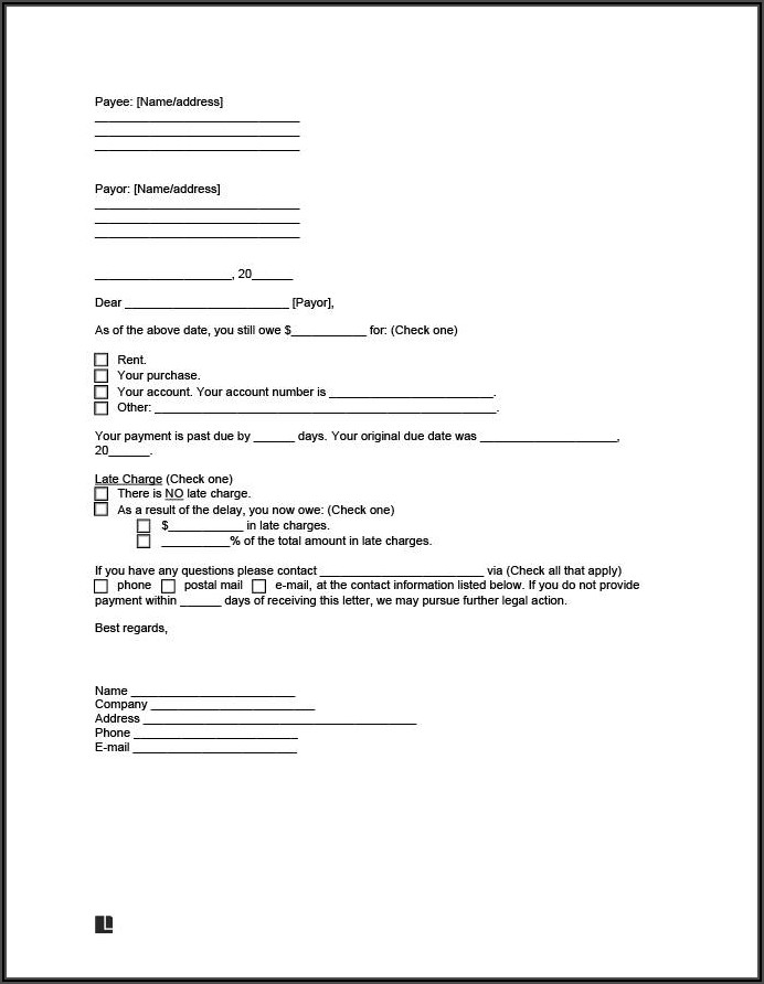 Legal Template For Settlement Agreement