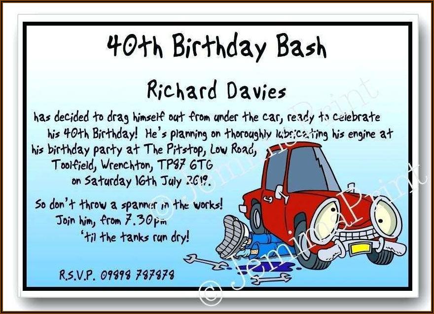 Little Man Birthday Invitation Template Free