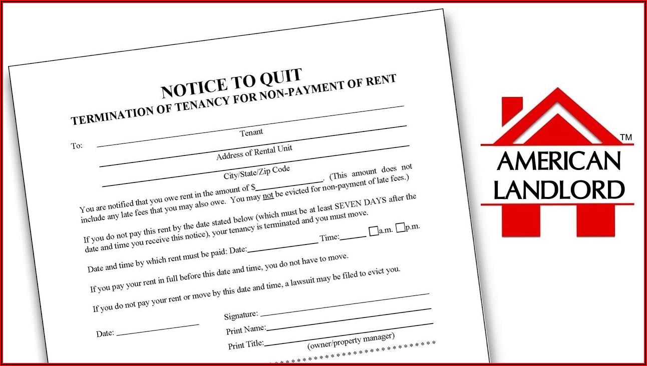 Louisiana Eviction Notice Form