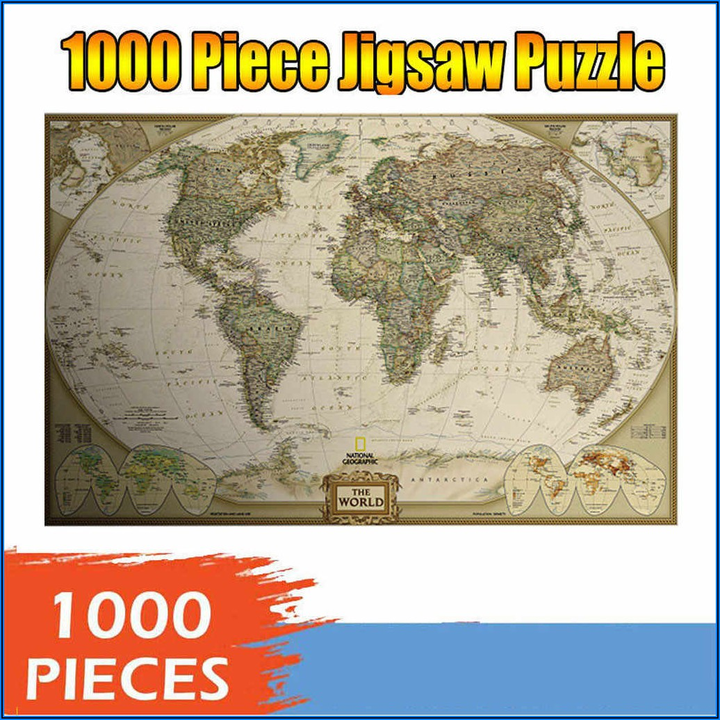 Map Jigsaw Puzzles For Adults