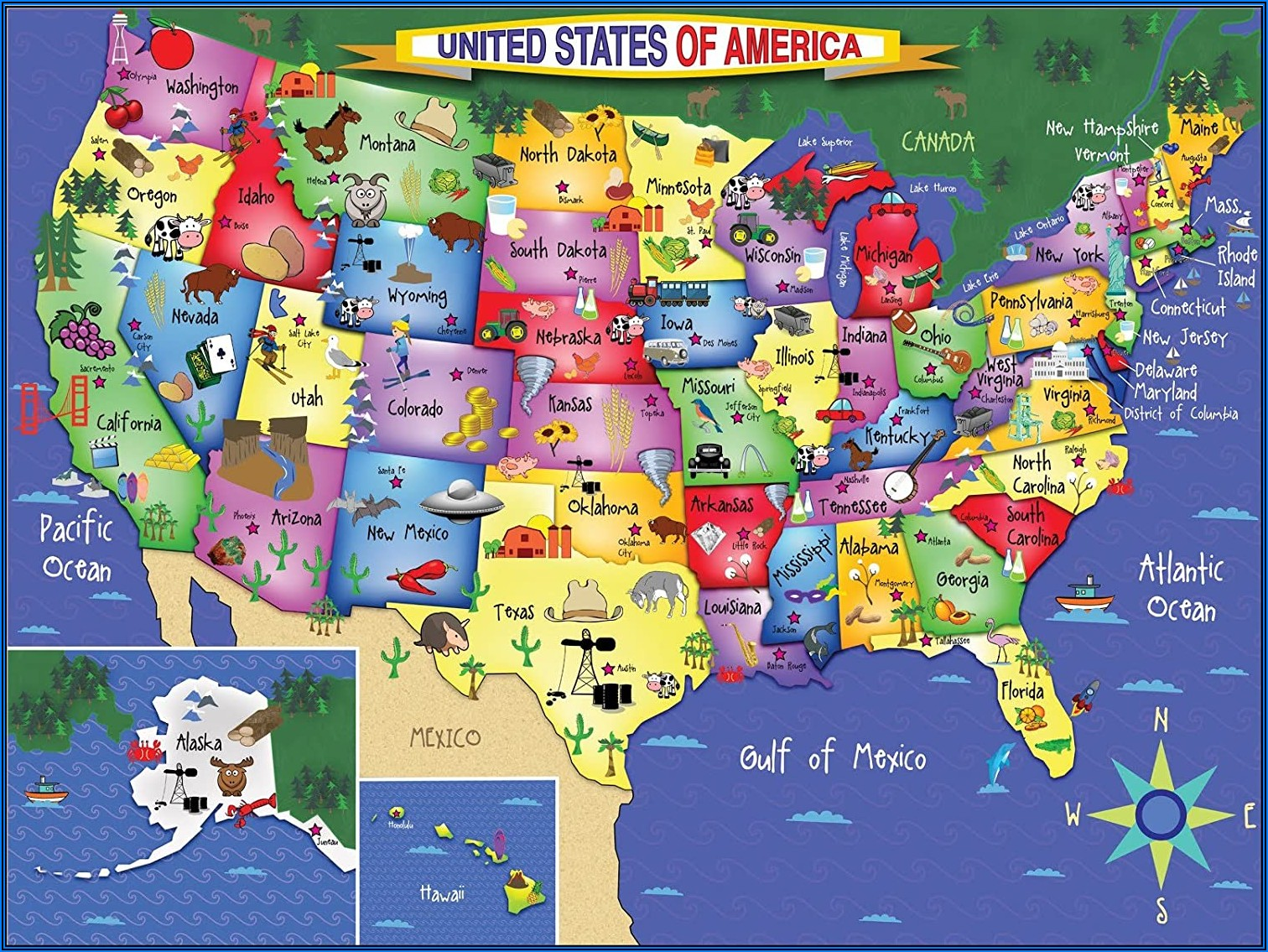 Map Jigsaw Puzzles Uk