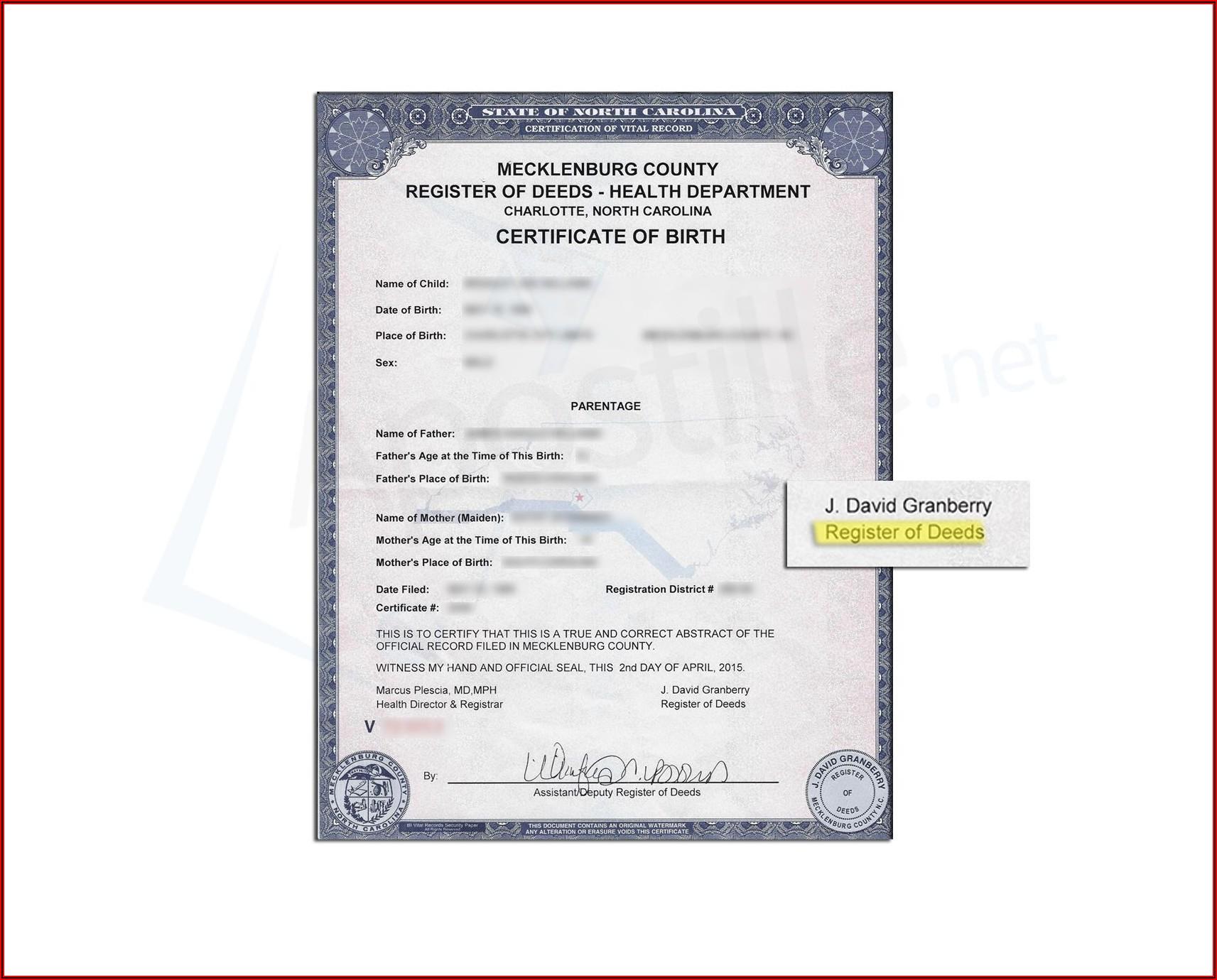 Mecklenburg County Divorce Forms