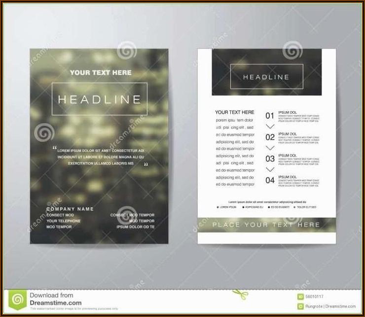 Microsoft Word Rack Card Template Free