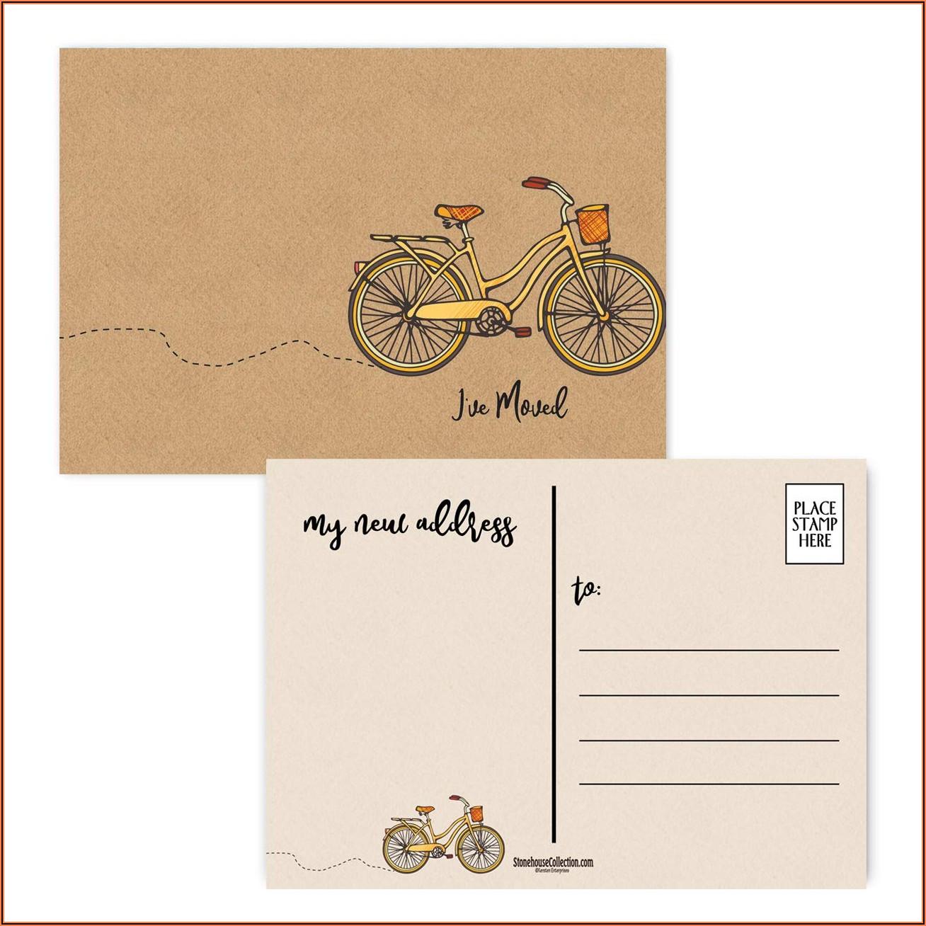 Moving Announcement Postcards Cheap