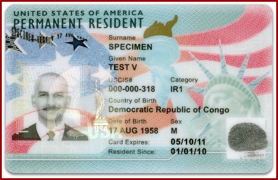 New Form For Green Card Application
