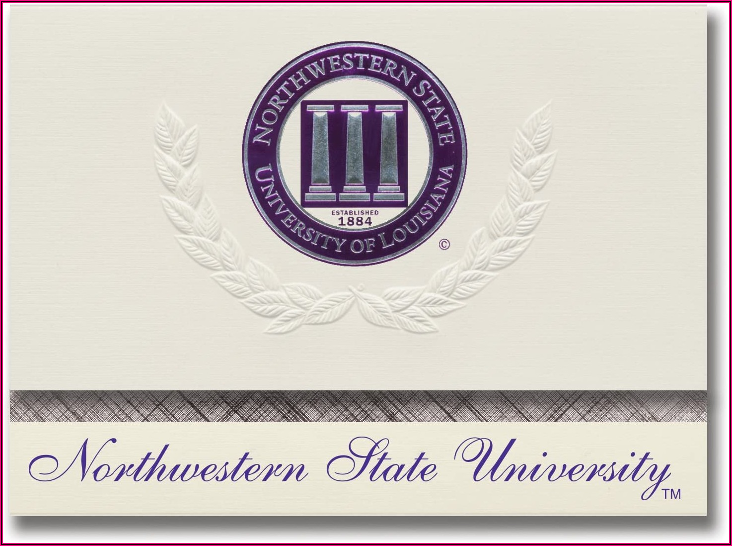 Northwestern University Graduation Announcements