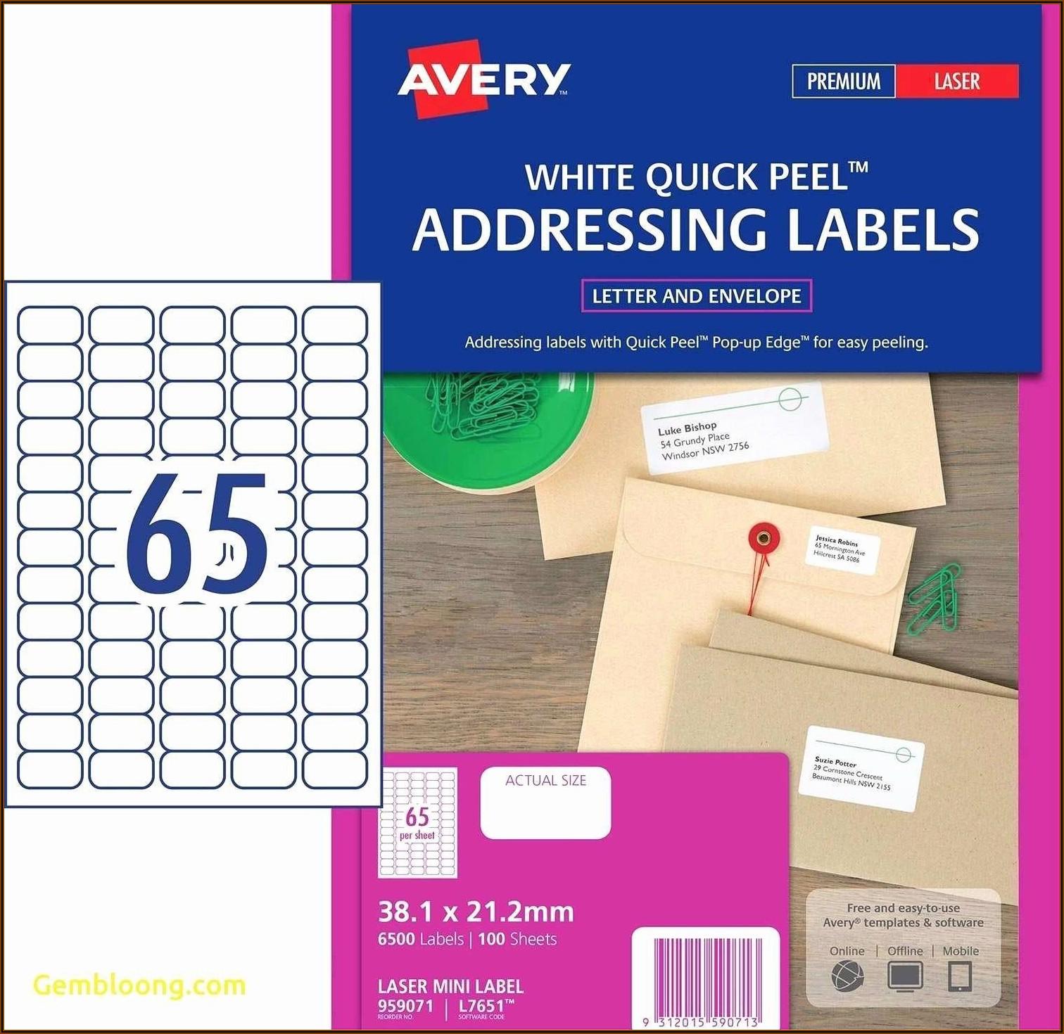 Office Depot Address Labels 5160 Template