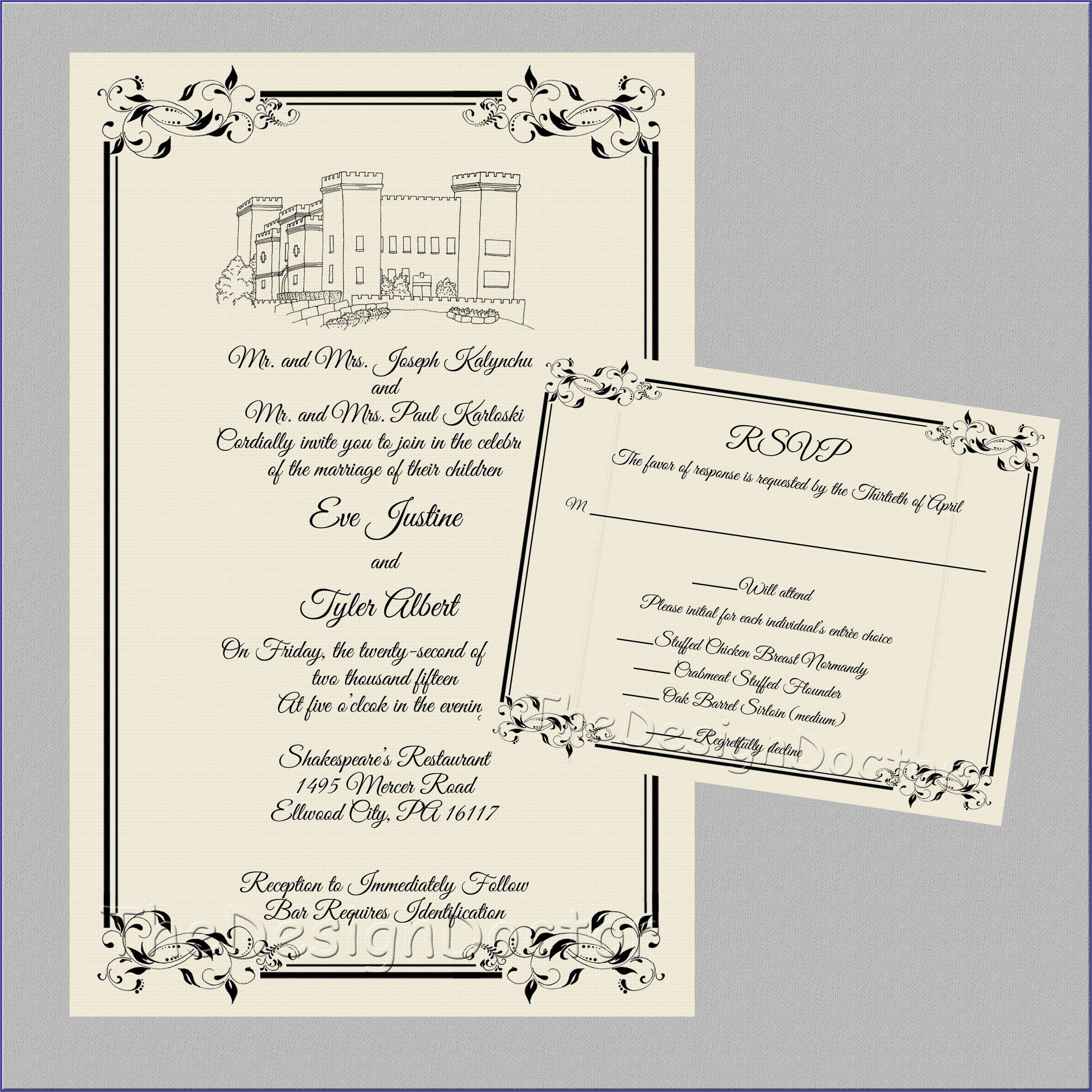 Office Depot Wedding Invitations Printing