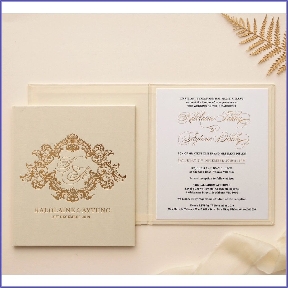 Pocketfold Wedding Invitations Uk