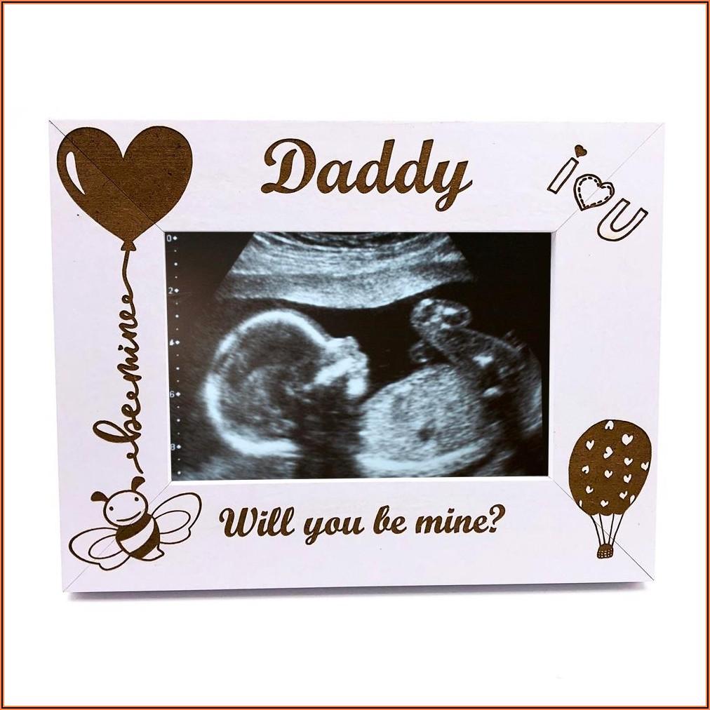 Pregnancy Announcement Photo Frame