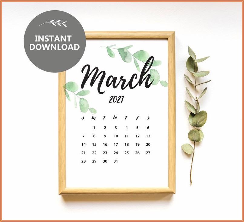 Printable Pregnancy Announcement Calendar