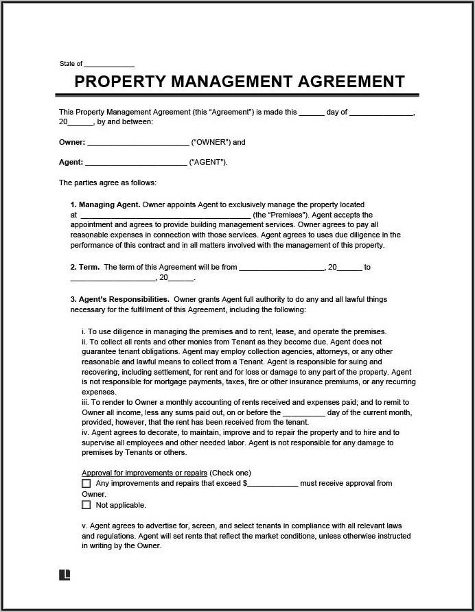 Property Management Spreadsheet Templates