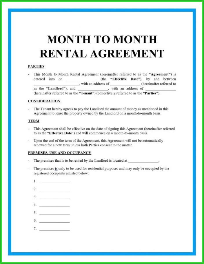 Room Rental Lease Agreement California
