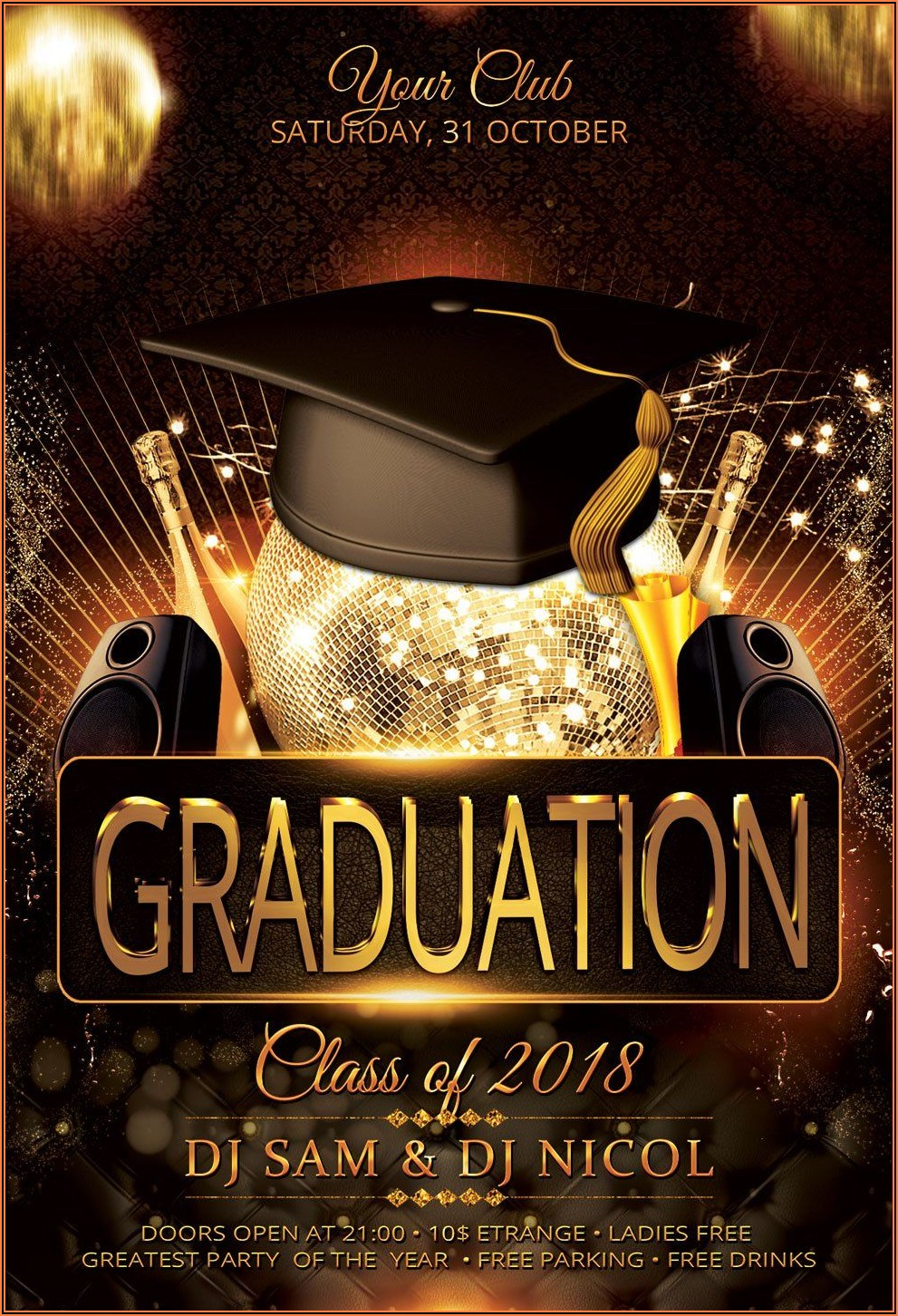 Sam's Club Photo Graduation Announcements