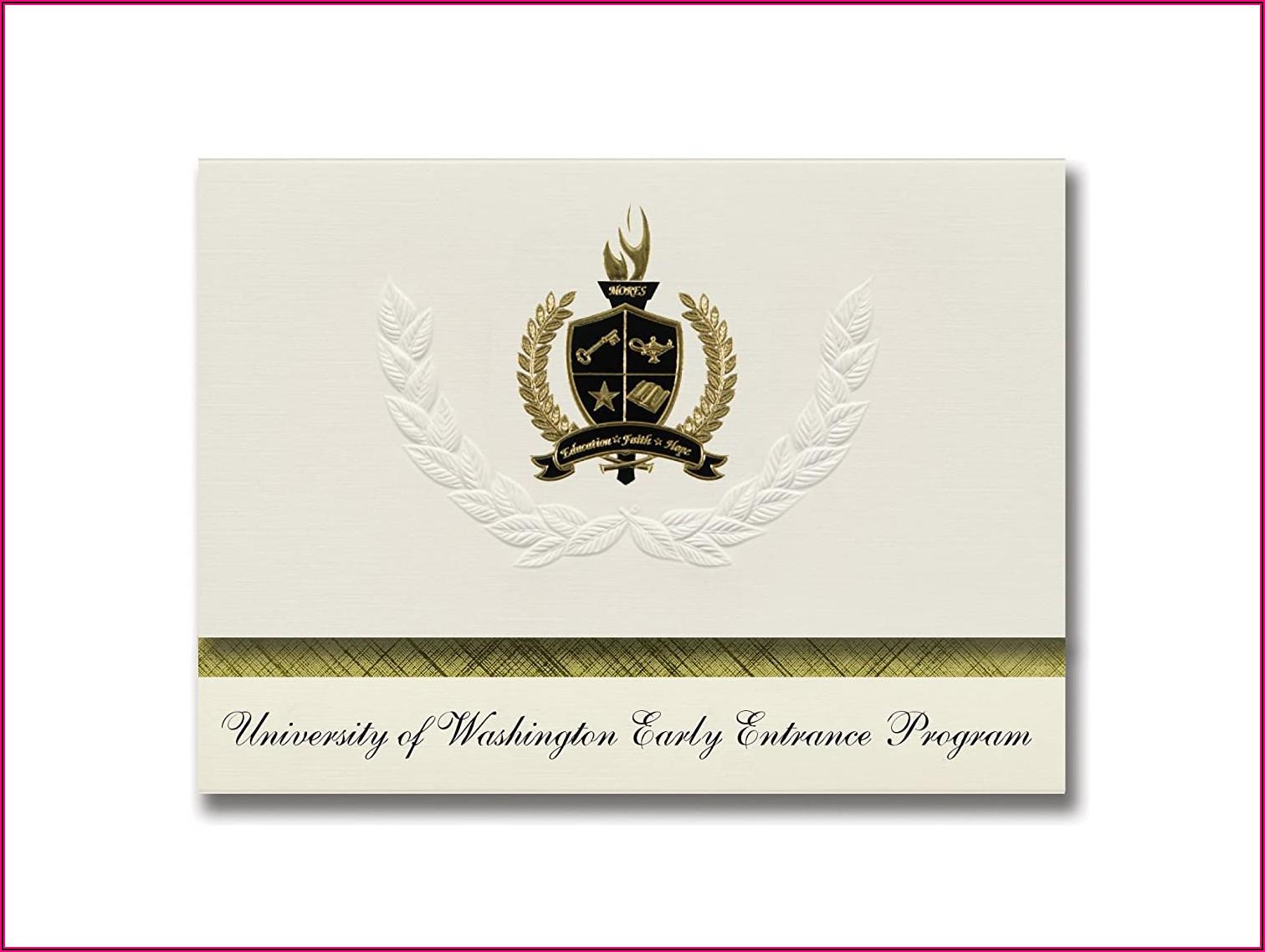 Seattle University Graduation Announcements