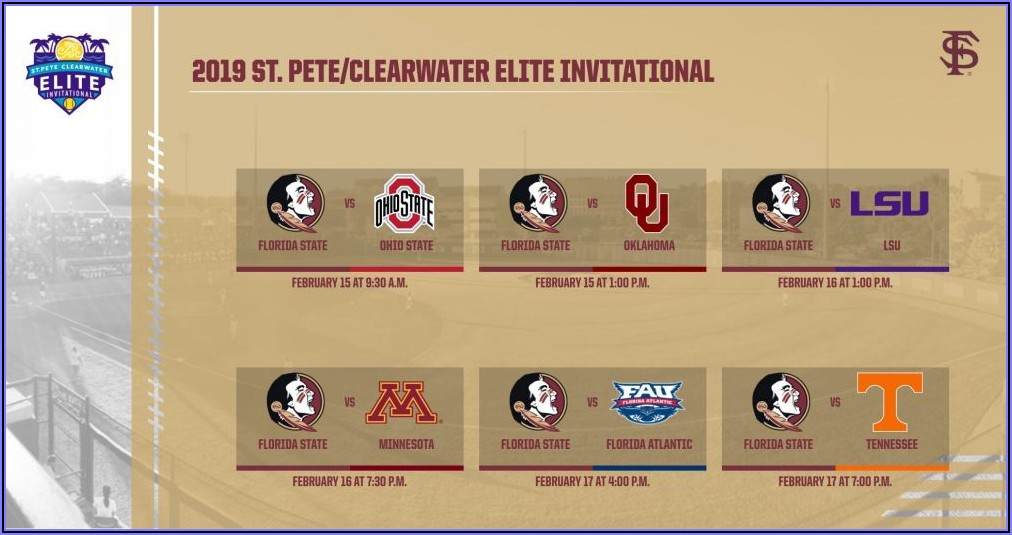 St Pete Clearwater Elite Invitational 2019