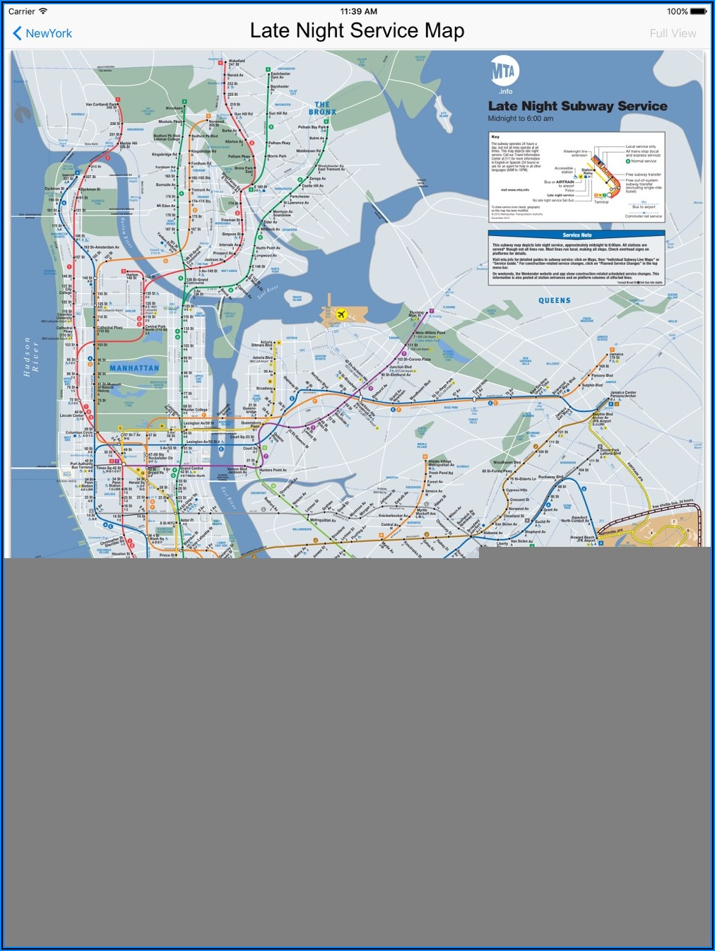 Subway Maps For New York City