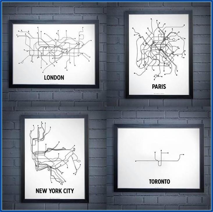 Subway Route New York City