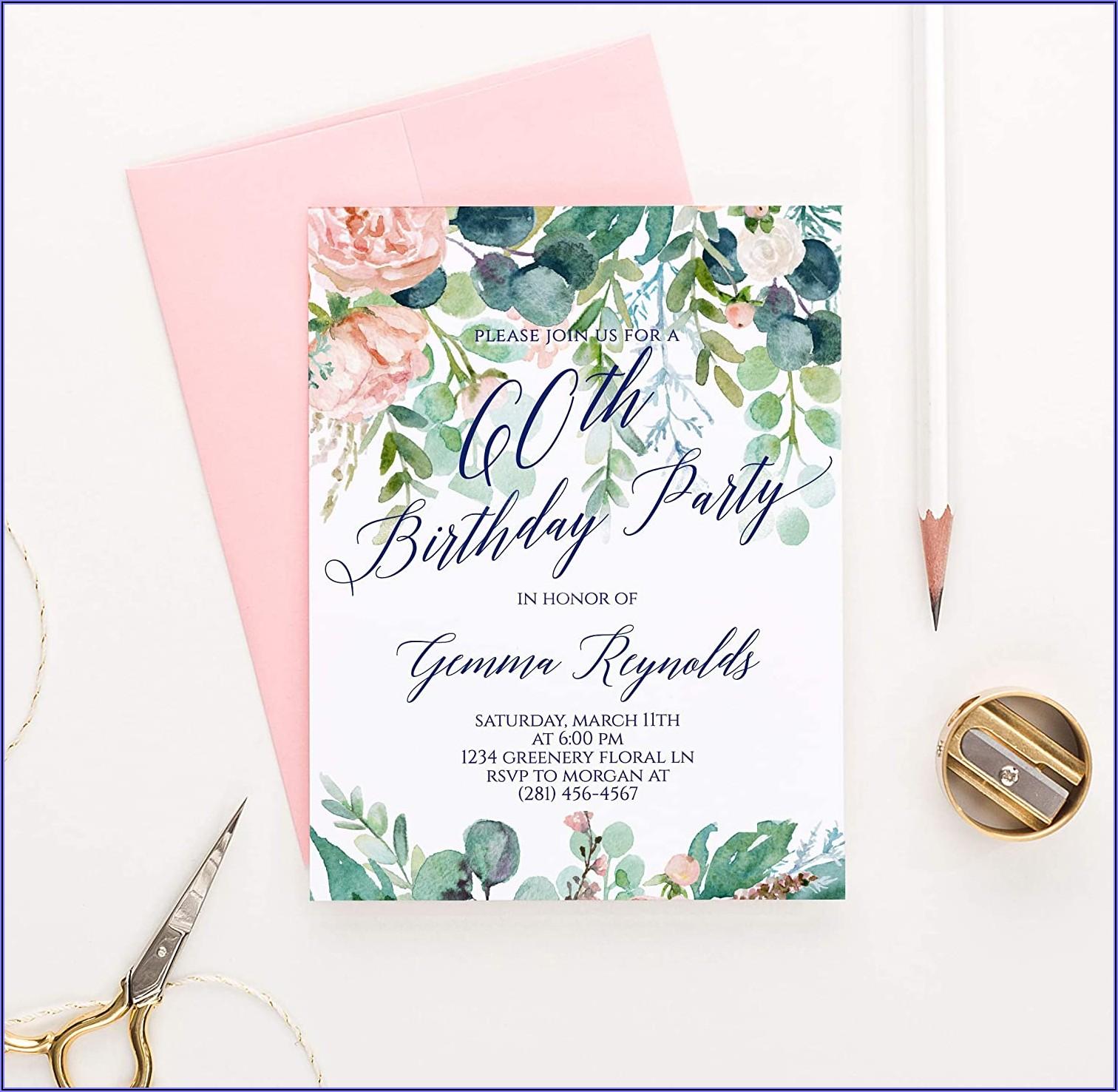 Surprise 50th Birthday Invitations