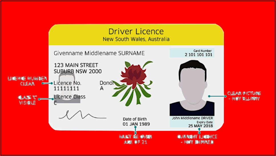Taxi Driver Application Form Nsw