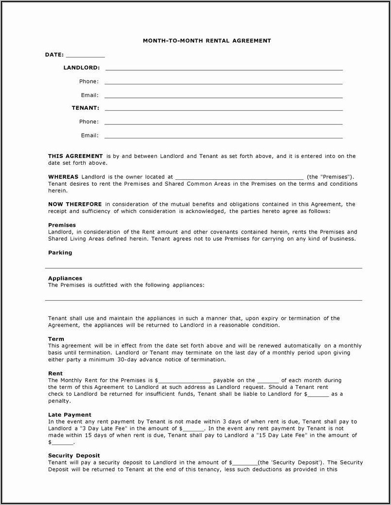 Tenants In Common Agreement Template Uk Free