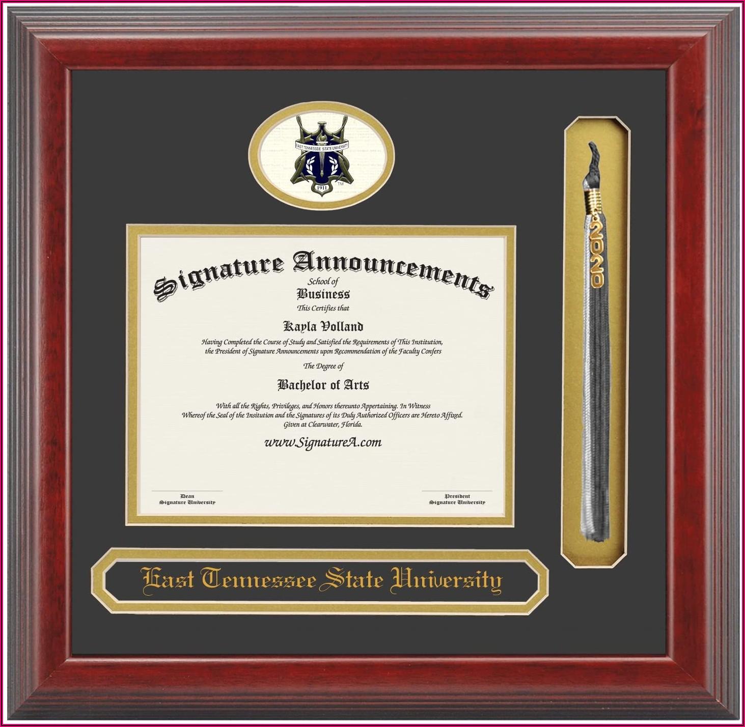 Tennessee State University Graduation Invitations