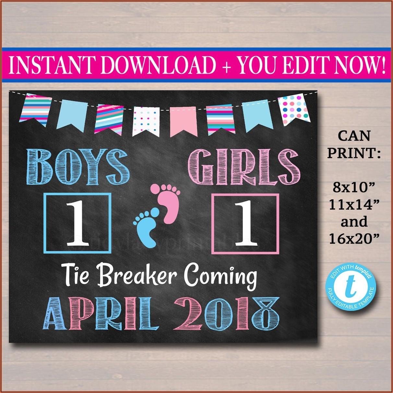 Tie Breaker Pregnancy Announcement