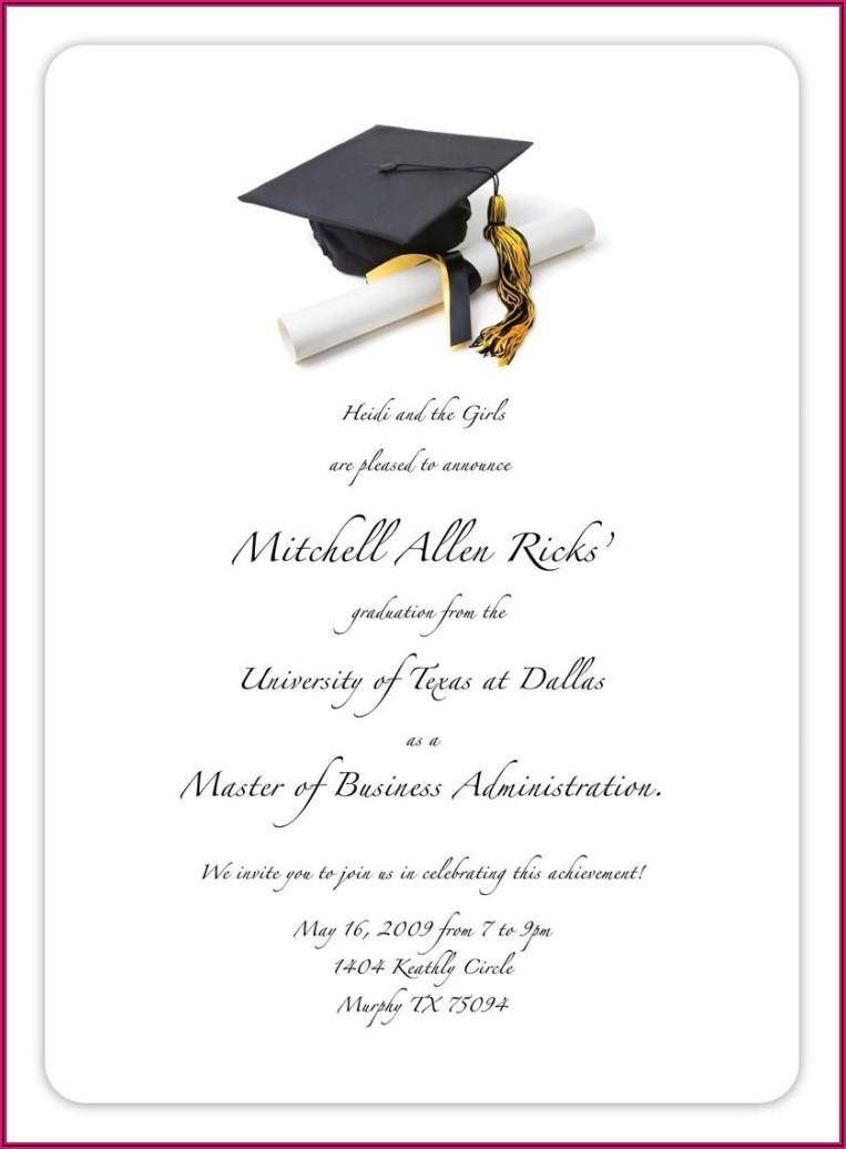 University Of Alabama Graduation Announcements 2020