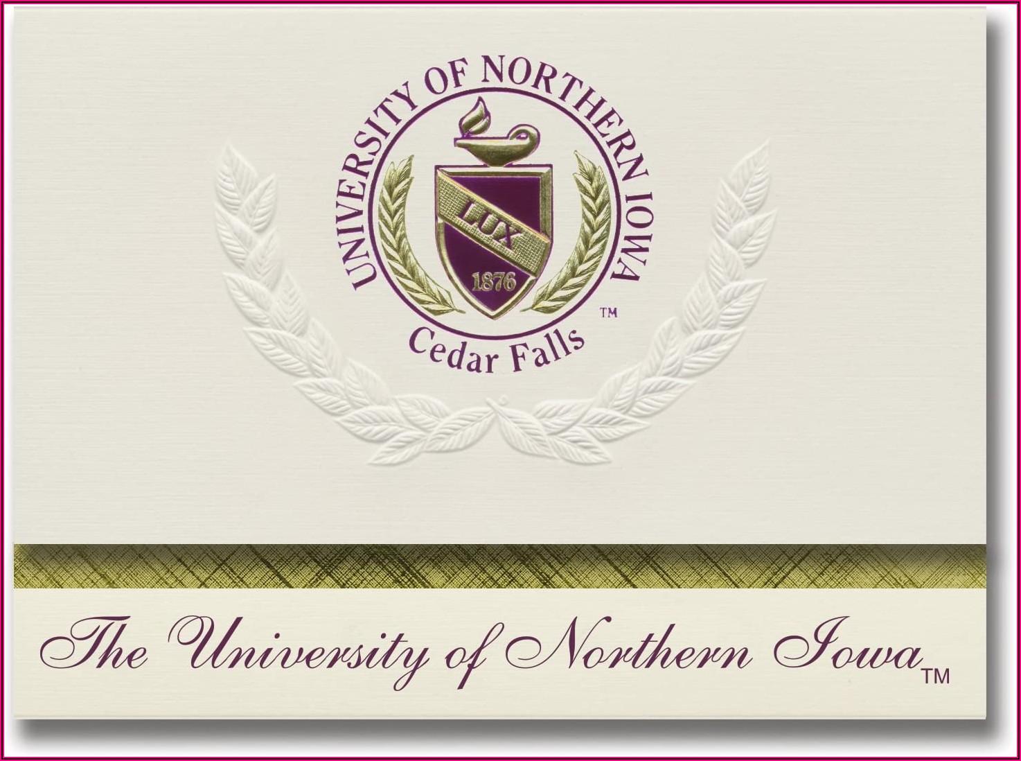 University Of Iowa Graduation Announcements