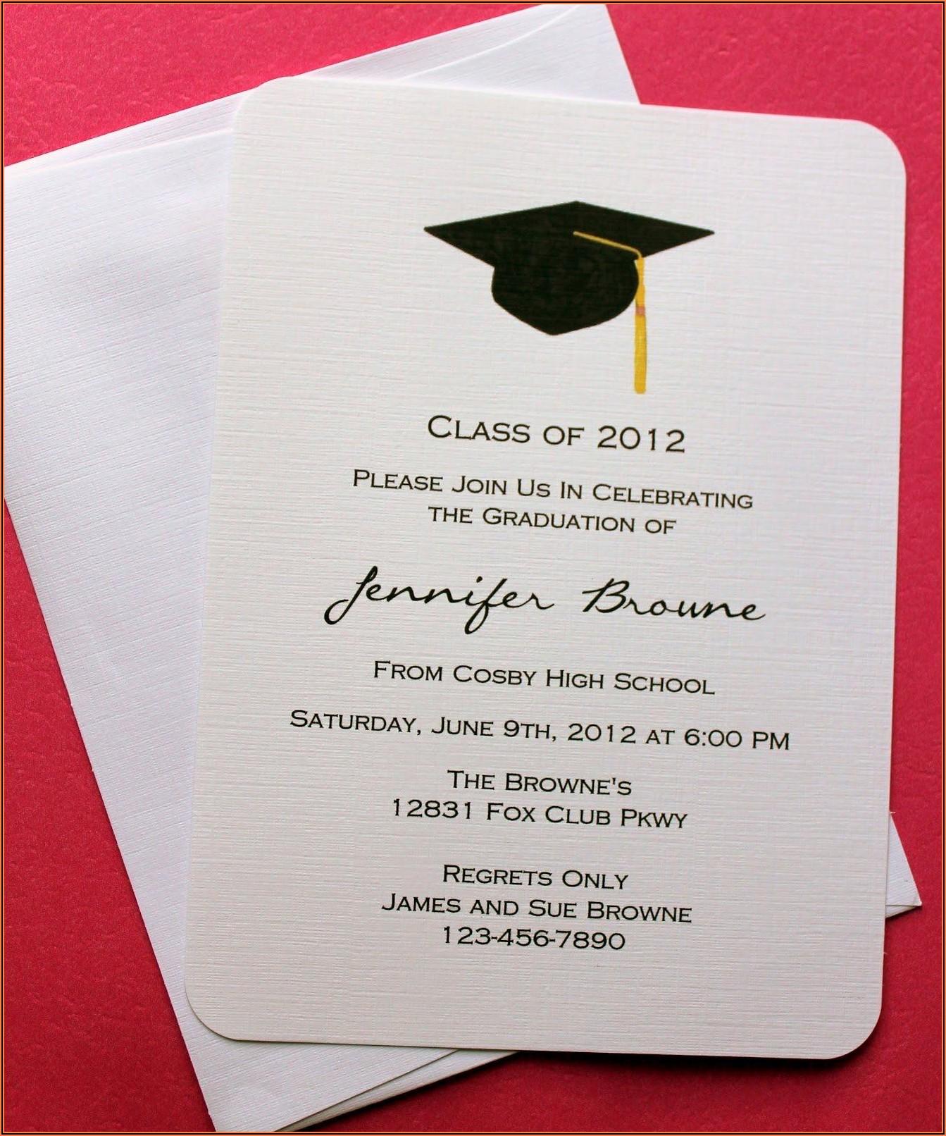 Walgreens Photo Graduation Announcements