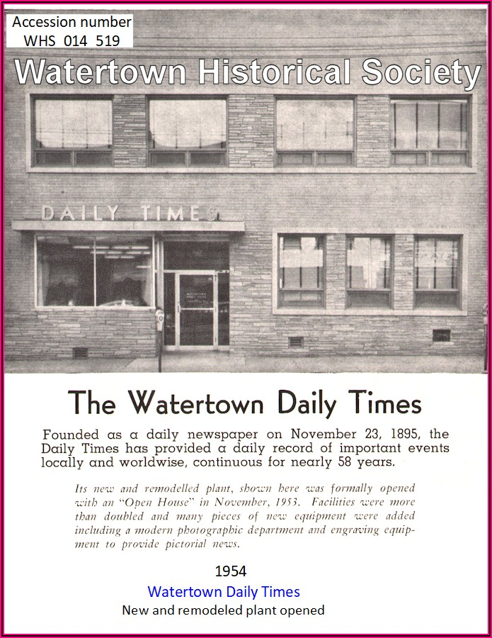 Watertown Daily Times Birth Announcements