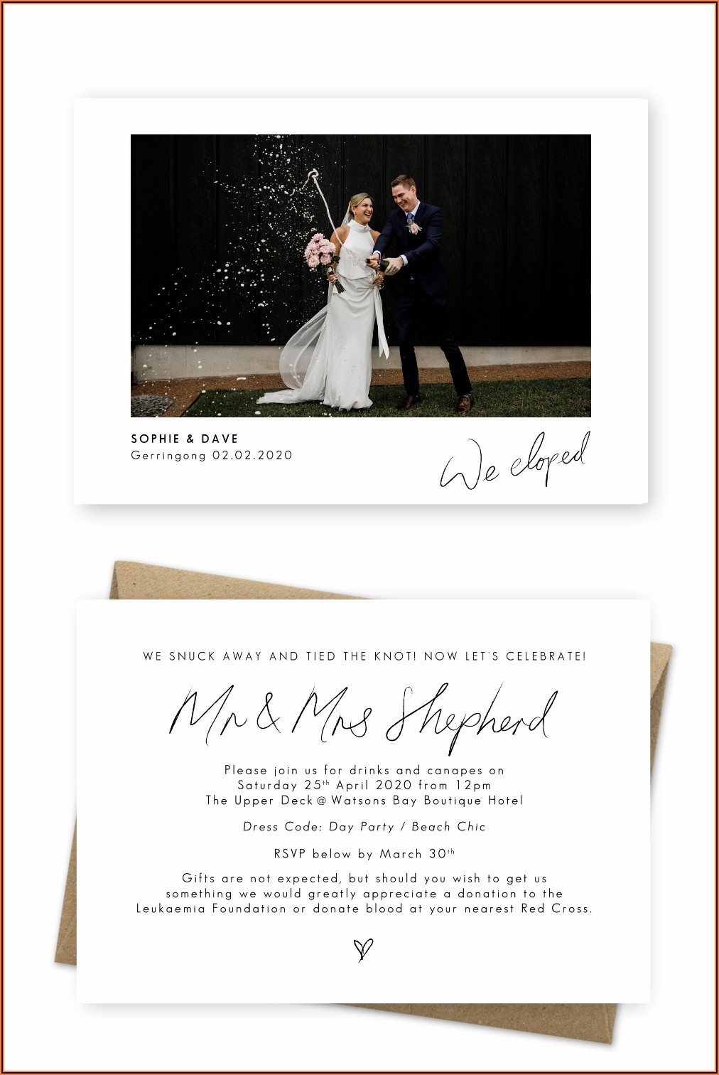 Wedding Announcement Cards Online
