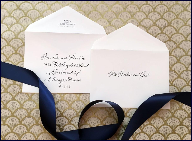 Wedding Invitation Addressing Etiquette