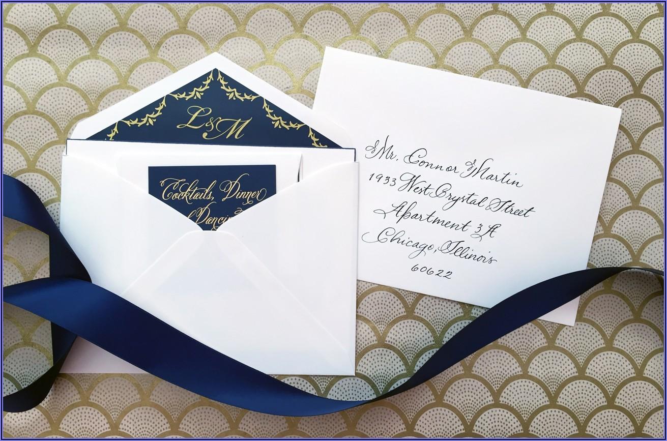 Wedding Invitation Envelopes Etiquette