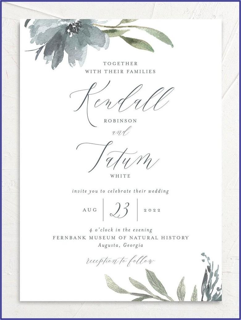 Wedding Invitation Etiquette Mail Out