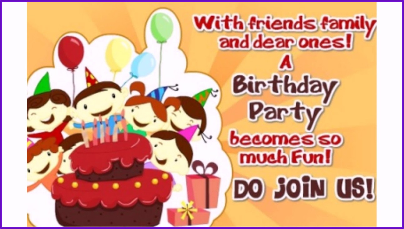 19th Birthday Invitation Message For Friends