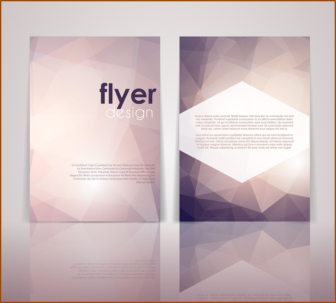 2 Sided Leaflet Template