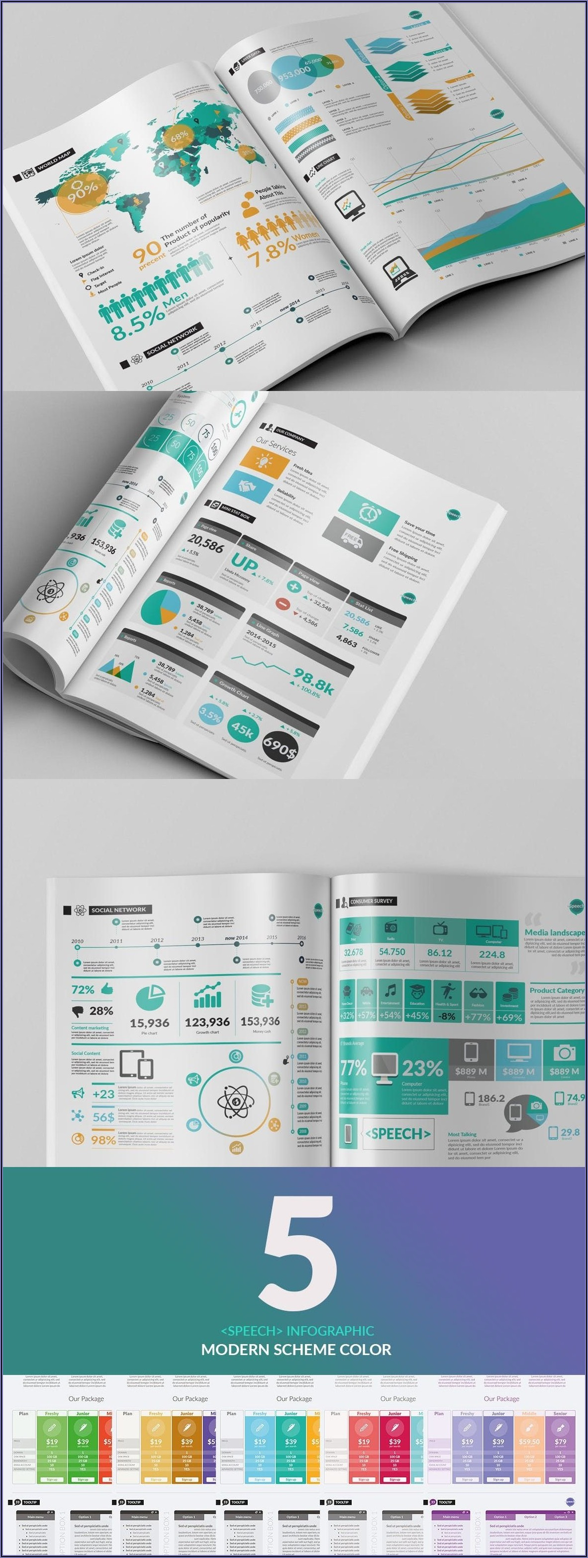 Adobe Illustrator Presentation Templates