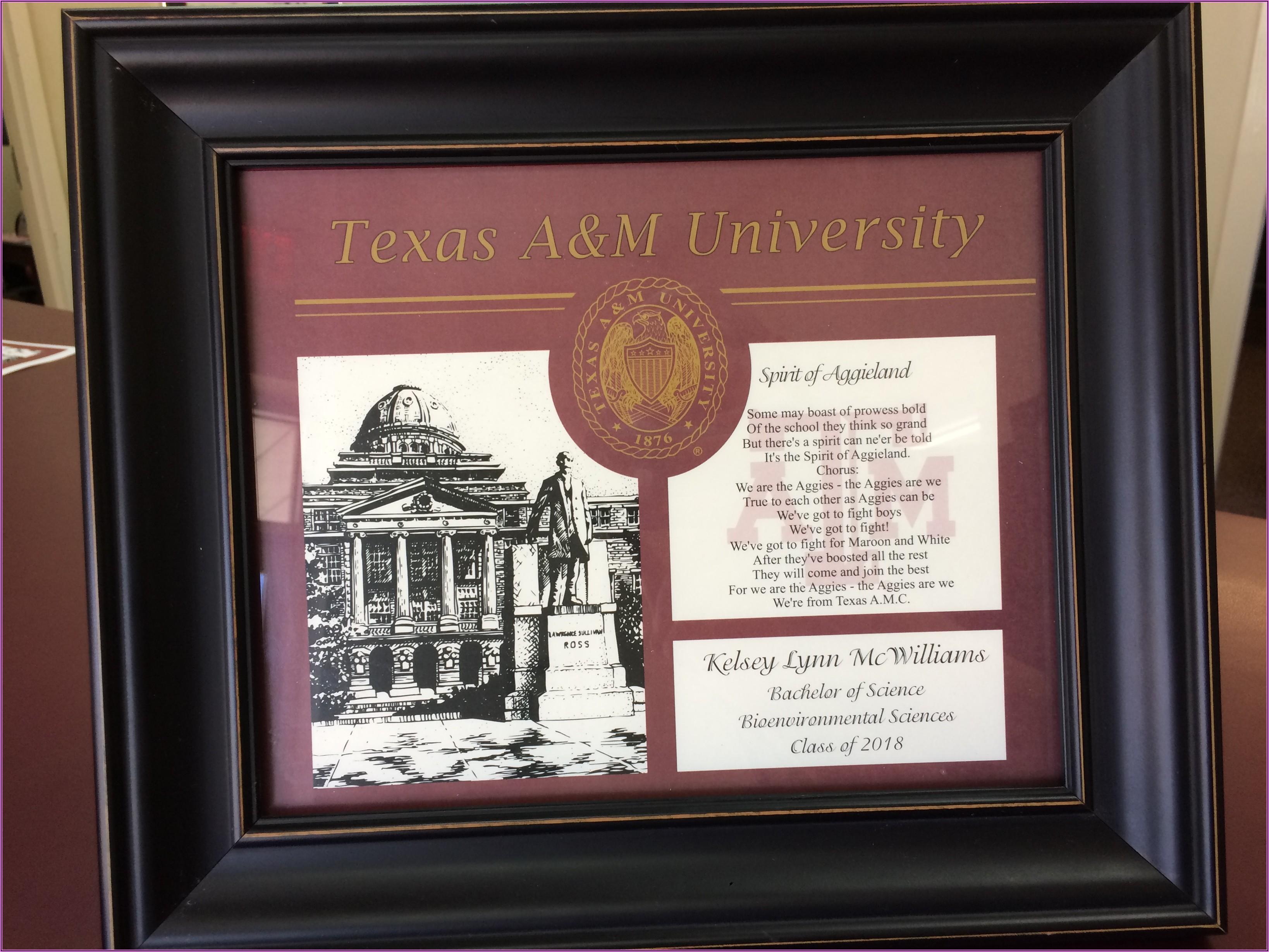 Aggieland Printing Graduation Announcements