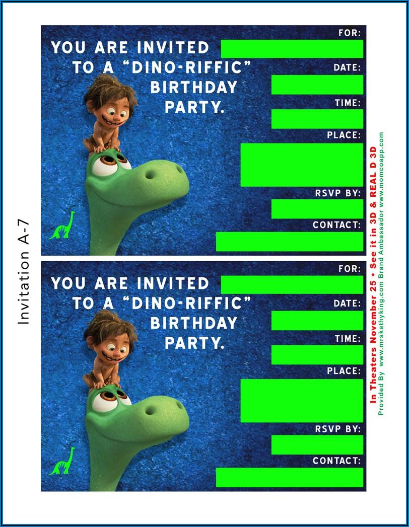 Birthday Playdate Invite Template