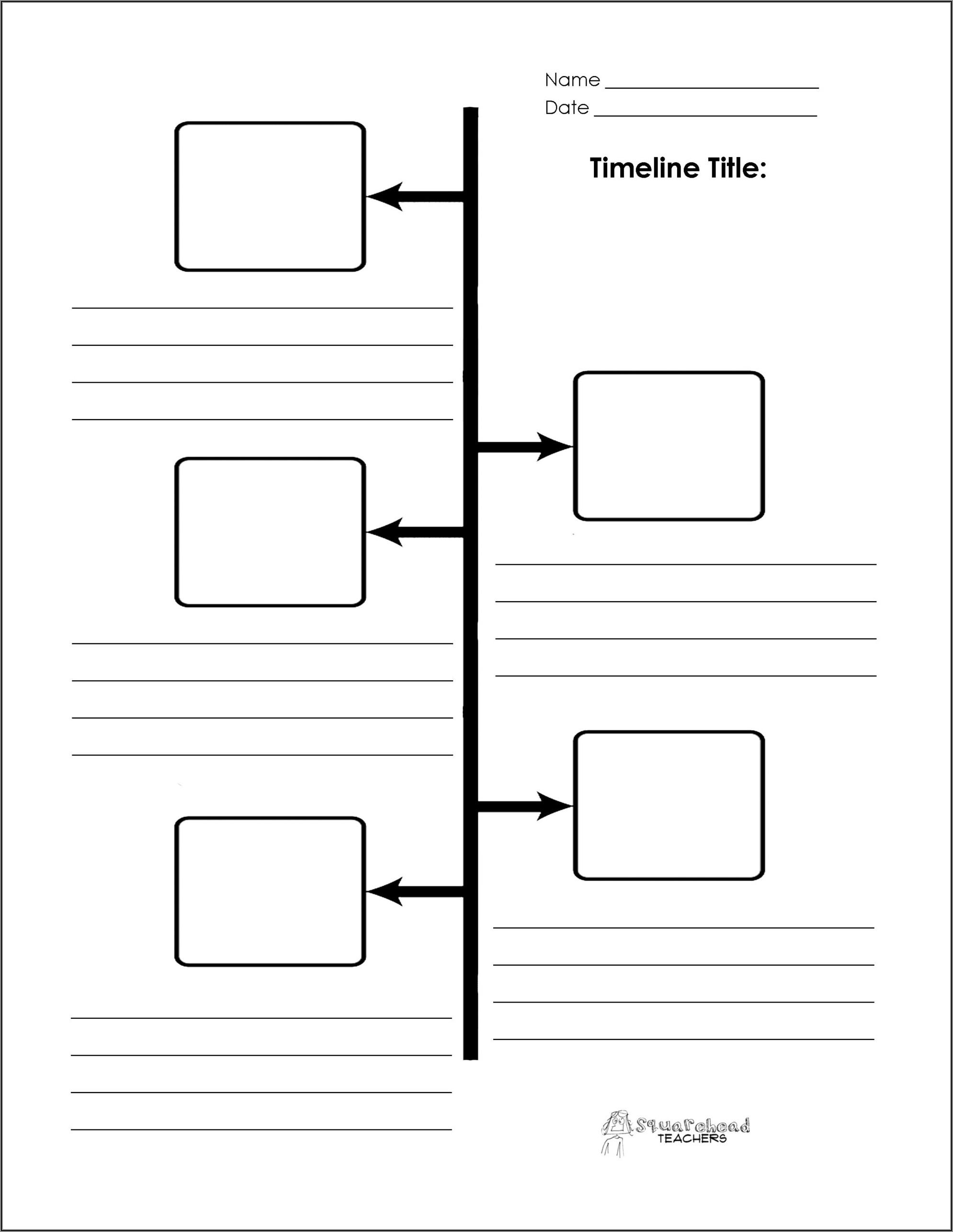Blank Newsletter Templates For Teachers