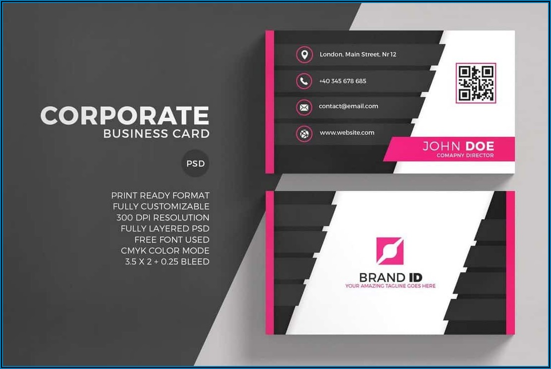 Business Card Template For Printing At Home