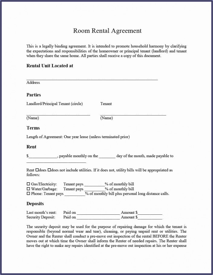 Business Lease Agreement Template Ireland