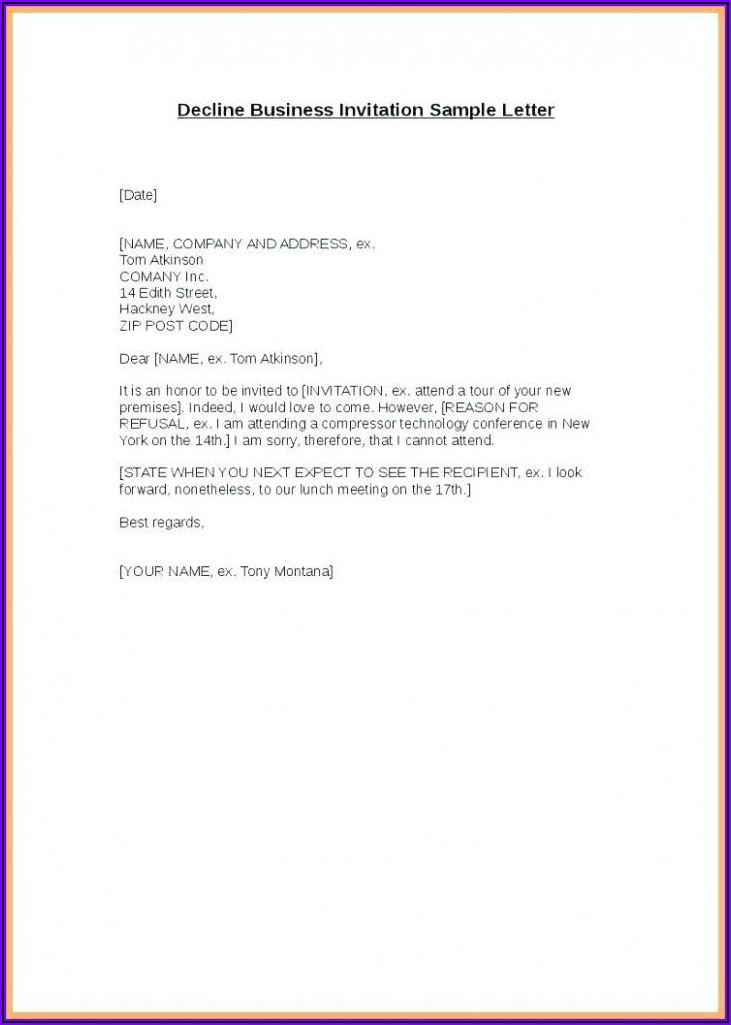 Business Lunch Invitation Text