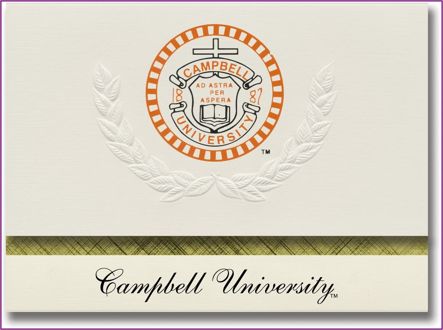 Campbell University Graduation Announcements