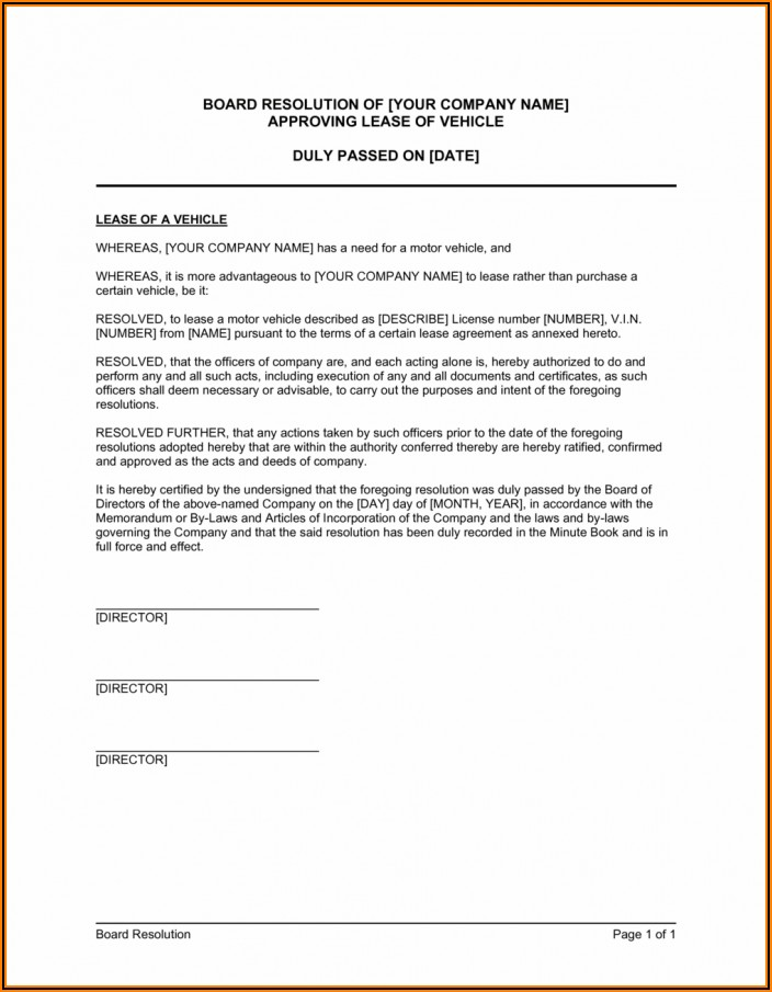 Car Lease Contract Sample Pdf