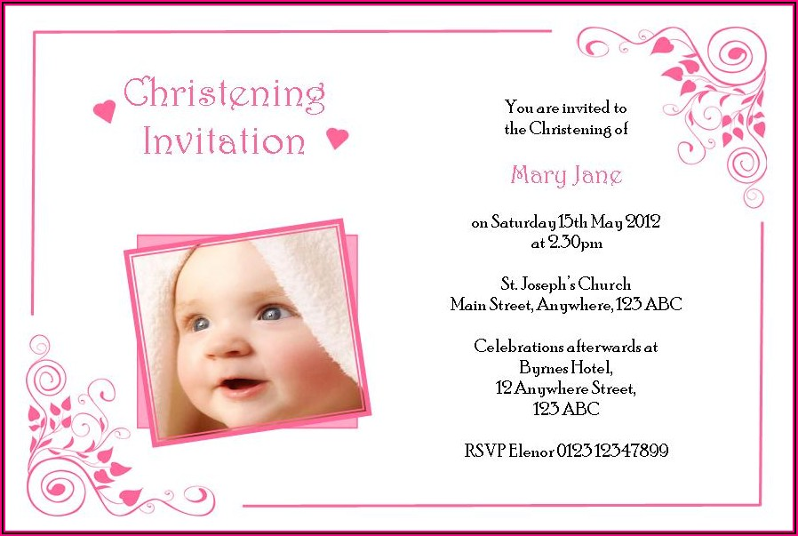 Catholic Wedding Invitation Wording In Spanish