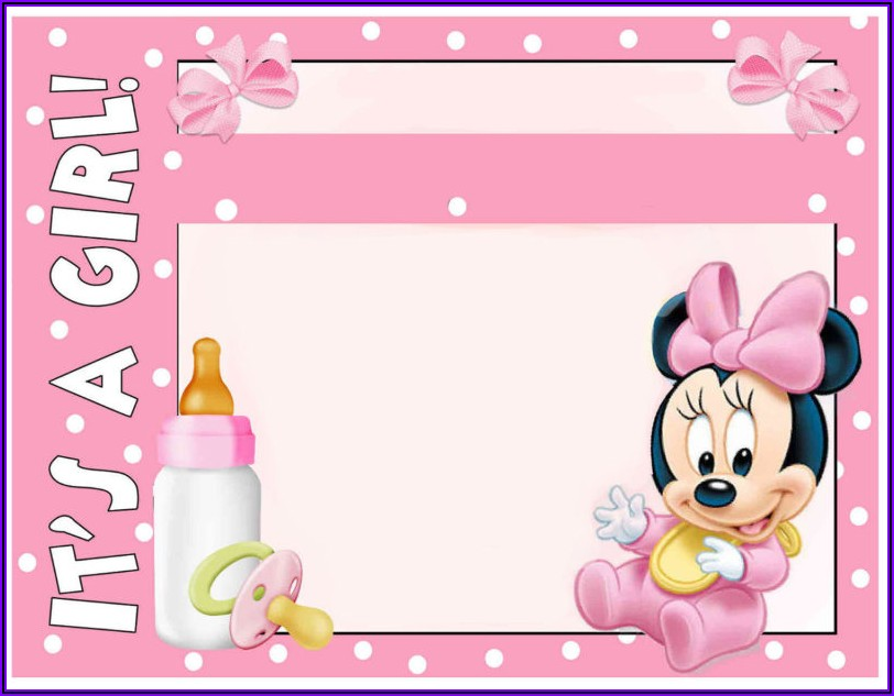 Create Minnie Mouse Invitations Online Free