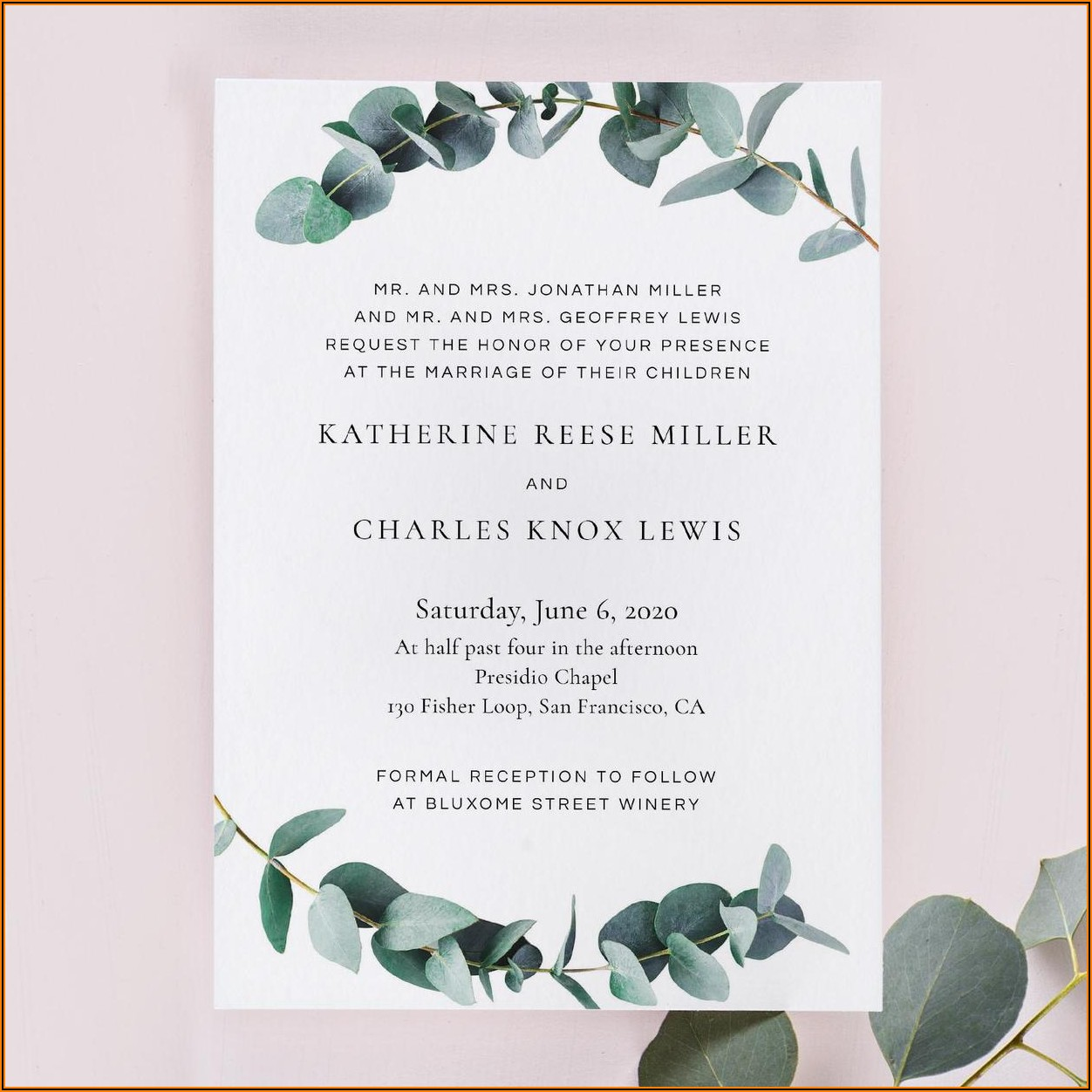 Creative Informal Wedding Invitation Wording