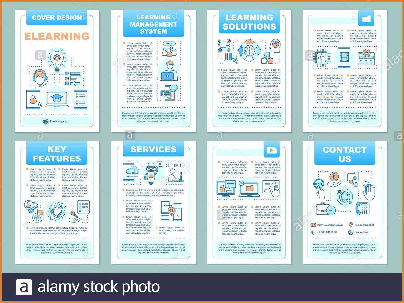 Design Brochure Online Template